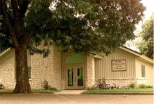 Nellie Pederson Civic Library in Clifton, Texas